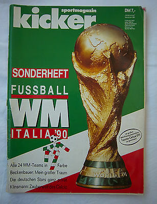 Orig.Complete PRG    World Cup ITALY 1990  -  Germany Edt.  !!  VERY RARE