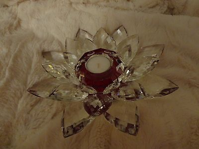 Large Lotus Flower Tlight Candle Holder Will Be Sent Signed Recorded