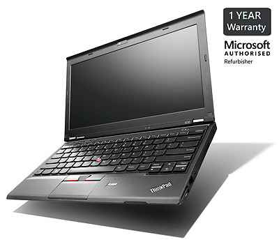 Lenovo Thinkpad X230 Laptop i5 3320M 2.6GHz 8GB 128GB SSD Windows 10 Professiona