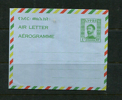 Ethiopia Africa Early Ppe Air Letter Aerogramme Stamp Cover Mint Unused