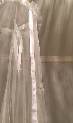 Next Bed Canopy - White With Stars