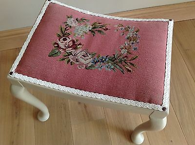 Stool, Dressing table, Tapestry seat