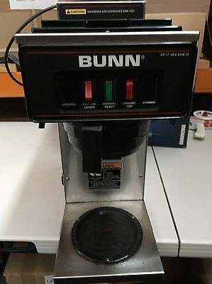 Coffee Brewer Maker Bunn VP17 Commercial Pour Over Automatic | Cafe| Office