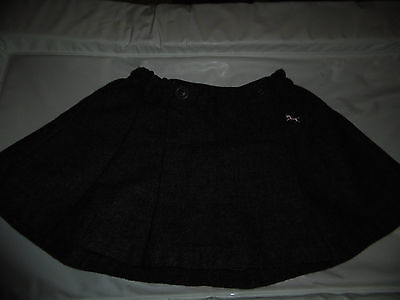 Girls Grey Wool Mix LOGG Skirt 6-9 Months