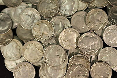 35 Buffalo Nickel Coins ( MIXED DATE )