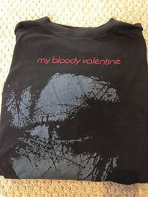 My Bloody Valentine Feed Me With Your Kiss small 1989 tour t-shirt
