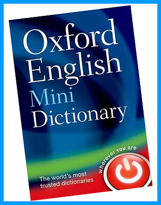 Oxford English Mini Dictionary by Oxford Dictionaries (Paperback, 2013) NEW