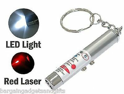 Laser Pointer Pen Torch Cool Gadget Boys Toy Novelty Mens Womens Cool Gift