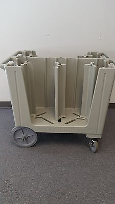 Cambro ADCS480 Adjustable Dish Cart (Speckled Gray)