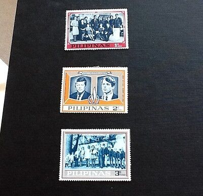 Philipinas Stamps Kennedy Family mint