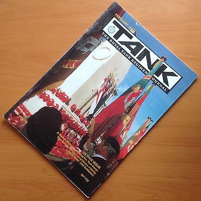 """Original Issue Of  """"tank. The Royal Tank Regiment Journal"""" - February 1996"""