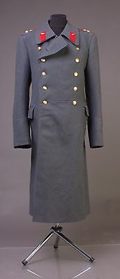 Soviet Wool Overcoat Parad greatcoat USED VTG USSR Officer tank forces L 50