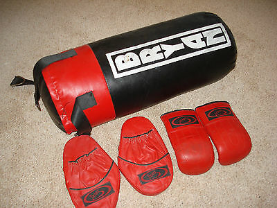 Punch Bag And Glove Set