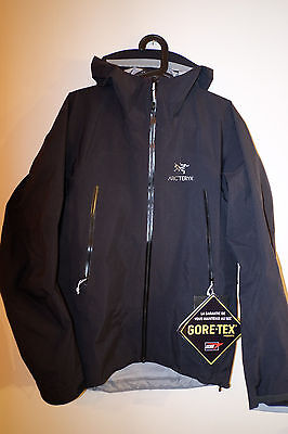 Arc'teryx ZETA AR Goretex Jacket. Men's/Herren - S [NEW / NEU] [Arcteryx] Black