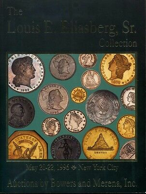 Eliasberg Collection Part 1 Bowers and Mererna Coin Catalog 1996
