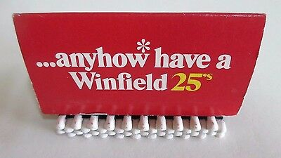 Anyhow* have a Winfield 25s Matchbook - Australia