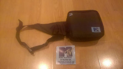 New Old Stock Mtv Retro Waterproof Nwt Tagged Discman Cd Walkman Carry Case Bag