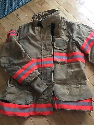 Firemens Jacket Coat Janesville Turnout gear size 4432R