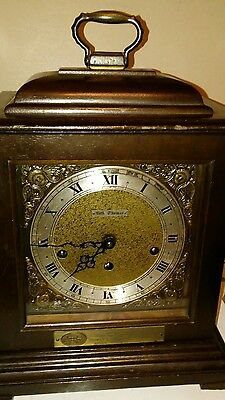 Vintage 1976 Seth Thomas Legacy-3W Large Carriage Clock Westminster Chime
