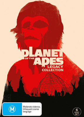 Planet Of The Apes Box Set DVD [Region 4] [New]
