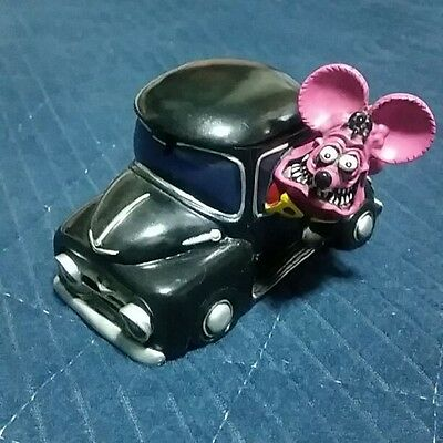 Used! Excellent! Rat Fink rare ashtray unused item beautiful item!