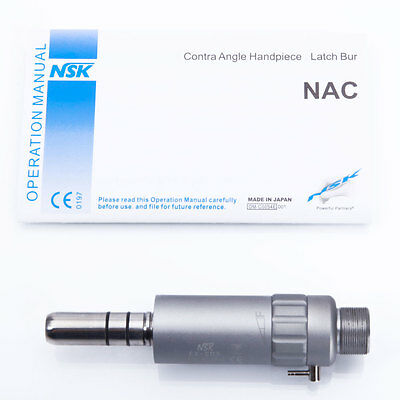 Pro 2-Hole Dental NSK Slow Low Speed Handpiece Contra Angle Air Motor ISO E-Type