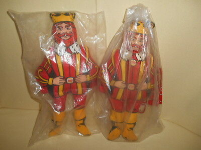 "SEALED 1970s Vintage Burger King Promotional Doll 13"" Stuffed Plush Unopened"
