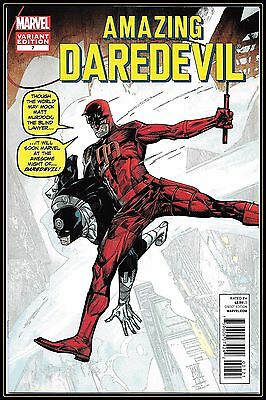 Daredevil #7-B (2012) 9.8 NM/M RI 1:50 '50th Anniversary' Variant Maleev Marvel