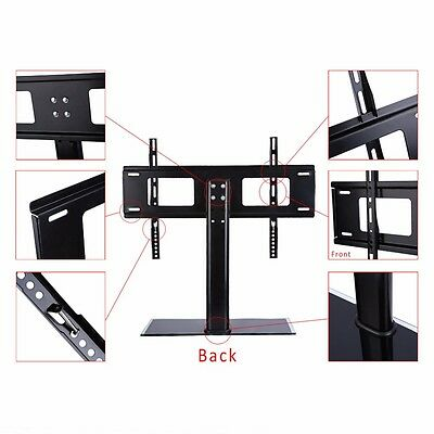 Universal TV Stand LCD LED Plasma Bracket VESA Mount Desktop Monitor Riser Rack