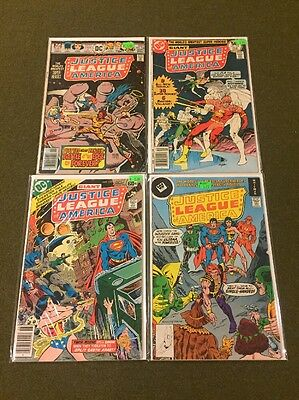 Justice League Of America 134-261 (35 Issues) Lot Set Run Annual #1