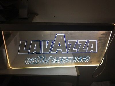 perspex sign Lavazza cafe expresso