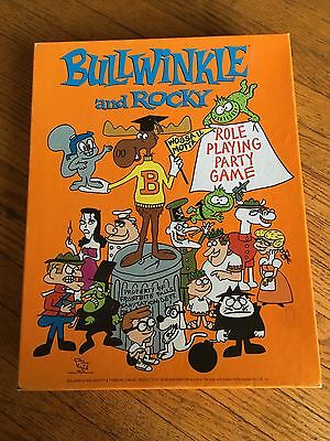 1988 TSR Bullwinkle and Rocky Role Playing Party Game