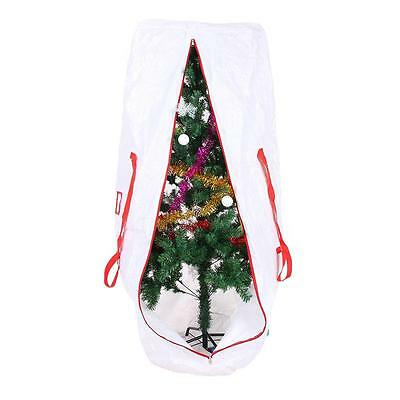 """61""""x27.5""""x27.5""""Christmas Tree Storage Bag For Clean Up Holiday Handles Zipper"""