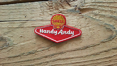 Vintage SHELL OIL Handy Andy Patch Badge - MINT
