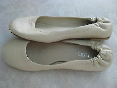 INNOVARE cream leather ballet flats size 38 (7)