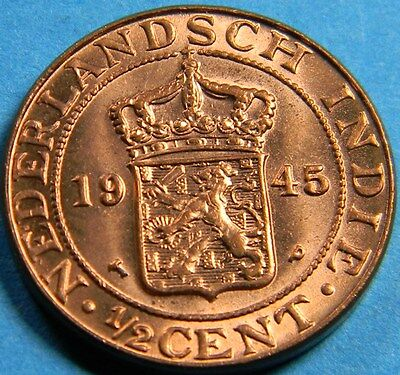 Dutch Indies 1945 1/2 cent
