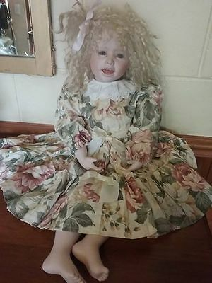 Judy by Pauline Middleton 1989 OOAK Porcelain Doll FINAL REDUCTION