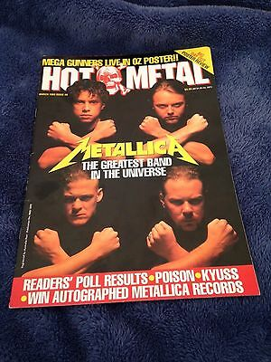 HOT METAL - Issue 49 - Australian Heavy Metal Magazine 1993