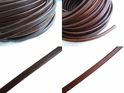 1 Meter Best Quality Genuine Licorice Leather Cord 10x6mm