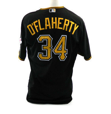 2016 Pittsburgh Pirates Eric O'Flaherty #34 Spring Training Game Issued Jersey