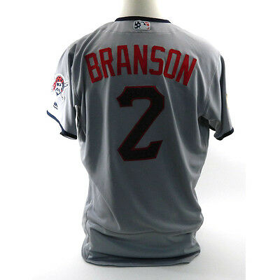 2016 Pittsburgh Pirates Jeff Branson #2 4th of July Game Used Jersey 1948