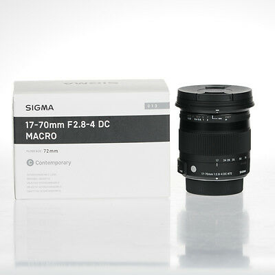 Sigma Contemporary 17-70mm f/2.8-4 DC Macro OS HSM Objectif (Monture Nikon)
