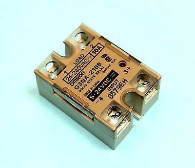 Omron G3NA-210B 24VDC 10 amp Solid State Relay In Box Load: 24VAC-240VAC 10A
