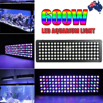 180W Dimmable LED Aquarium Light For Coral Reef Marine Tank Full Spectrum 165W