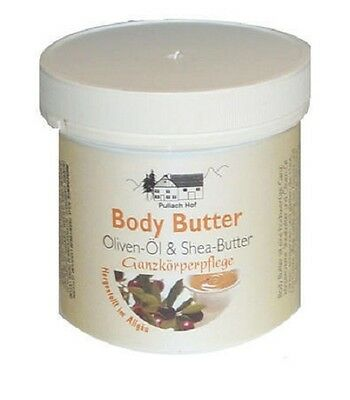 24x 250 ml Body Butter Creme Bodybutter Oliven Öl & Shea Butter Sheabutter