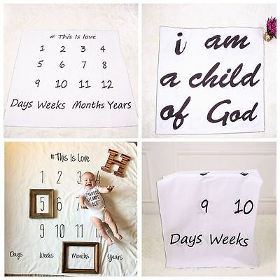 Newborn Baby Boys Girls Stretch Wrap Infant Photography Photo Prop Cloth Blanket
