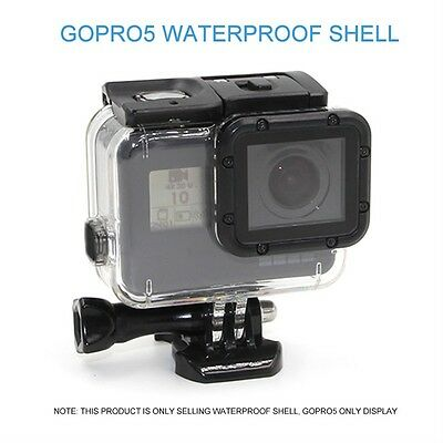 Waterproof Camera Removable Housing Case Mount For GOPRO HERO 5 Accessories WL~