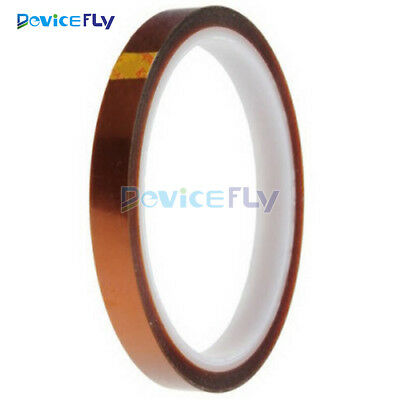 10mm 100ft High Temperature Gold Kapton Tape BGA Heat Resistant Polyimide