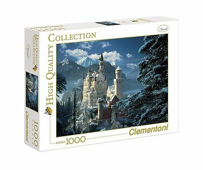 Clementoni Puzzle 31390 - Neuschwanstein - 1000 pezzi High Quality Collection