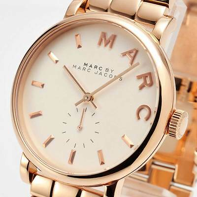 Marc By Marc Jacobs Mbm3244 Baker Rose Gold Tone Ladies Watch